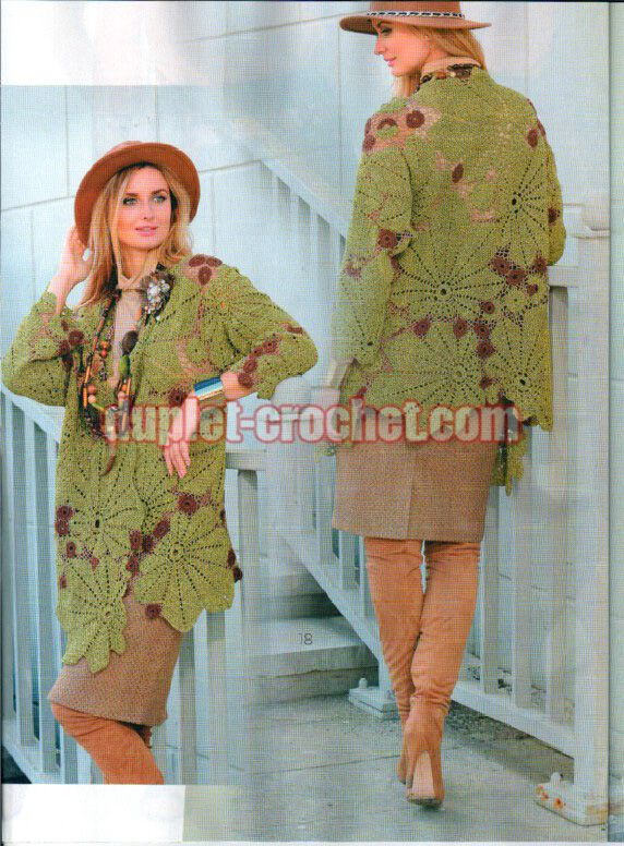 October 2016 Journal Jurnal Zhurnal MOD 602 crochet n knit patterns book magazine