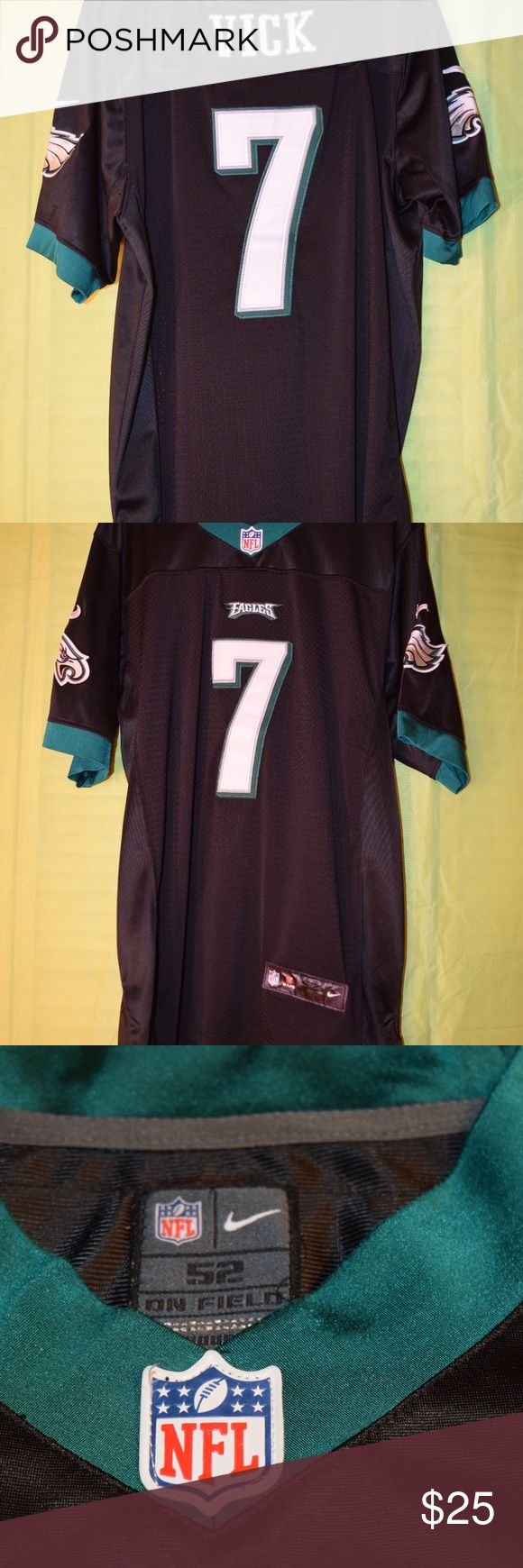 Men's Nike Philadelphia Eagles Michael Vick Jersey Men's Nike Philadelphia Eagles Michael Vick #7 Jersey. Black. Size 52. Mesh body, stiched shadowed numbers and name. No rips, tears, snags or stains. Nike NFL Shirts