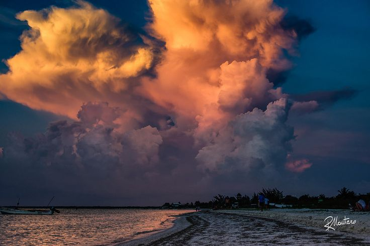 Las Nubes  A rework of one of my old shot with new techniques and new ideas. A dramatic sunset in Isla Holbox, again the caribbean sea has gifted me with a unbeliveable scenario. Why waste it?  For more photos follow me on instagram @riccardo_mantero