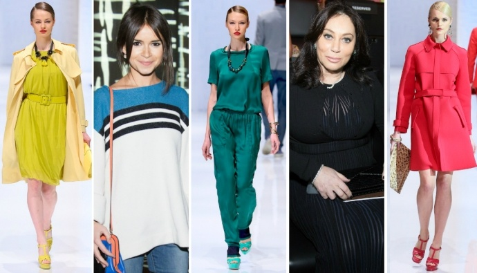 В выходные в концертном зале Барвиха Luxury Village состоялось Fashion Show