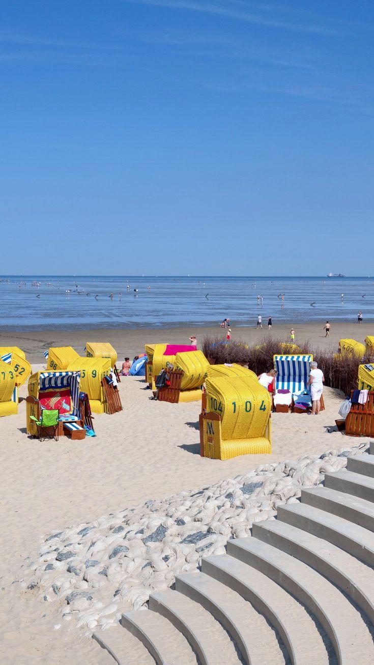 Strand Duhnen Nordseeheilbad Cuxhaven Urlaub Nordsee Urlaub Cuxhaven