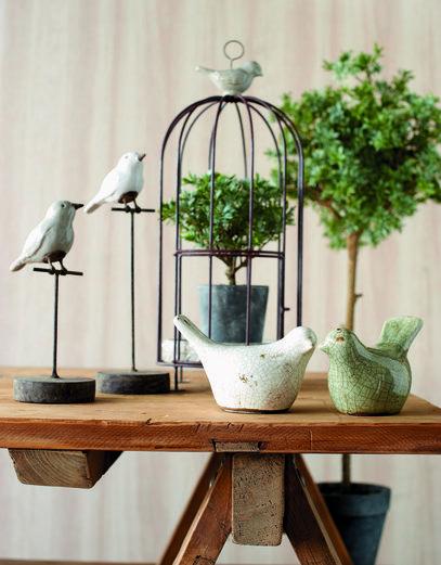 Wyposażenie, Parlane- angielskie dekoracje - Ceramiczne ptaszki, www.parlane.pl