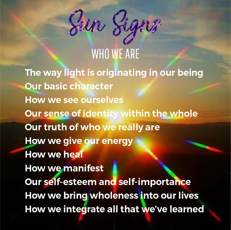 Our sun sign is the answer we give when someone asks us...what's your sign? The sun sign represents how we see ourselves and our sense of identity.  #consciousness #astrology #zodiac #sunsign #horoscope #consciousnessshift #zodiacsigns #zodiacfacts #lightworker #awakening #love #meditation #zen #yoga #paradigmshift #consciousnessminds #gratitude #inspiration #chakras #spirituality #spiritualgrowth #spiritualawakening #spiritual #mindful #cosmos #universe8