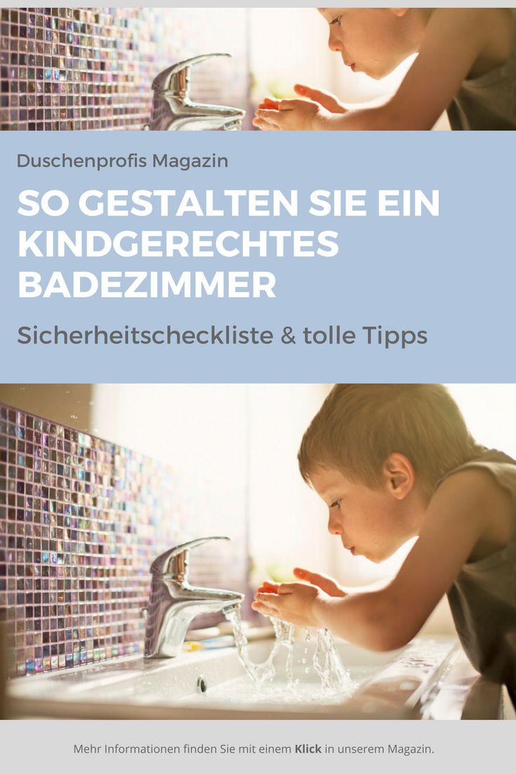 Kindergerechtes Badezimmer So gestalten Sie das Bad für Kinder ...