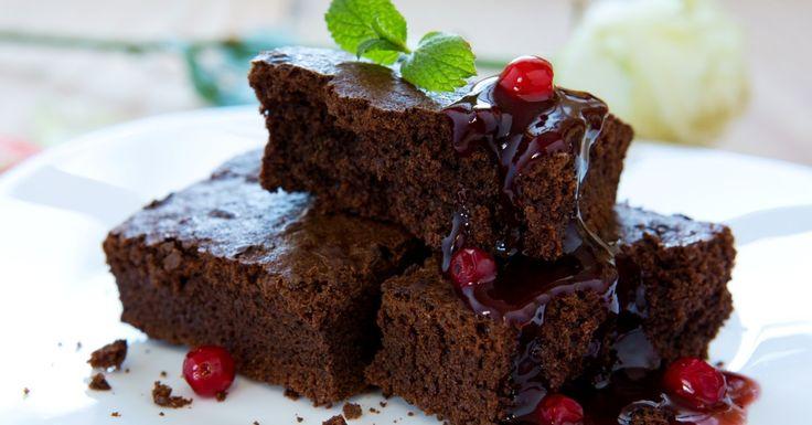 Peu de temps pour cuisiner le jour de la St-Valentin ! Voici un brownie...3 ingrédients ! - Desserts - De délicieux desserts simples à réaliser - Ma Fourchette - Délicieuses recettes de cuisine, astuces culinaires et plus encore!