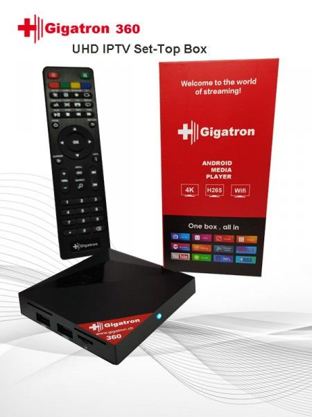 Gigatron 360 IPTV KODI,STALKER,NETFLIX