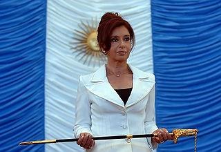 President Cristina Fernandez de Kirchner of Argentina