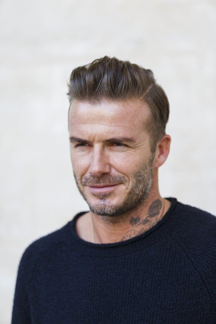 Pin for Later: David Beckham Looks Like a Living, Breathing Calvin Klein Ad at Paris Fashion Week