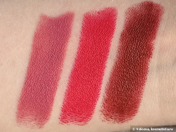 NYX Matte Lipstick Mls11 Tea Rose, Mls18 Bloody Mary, Mls07 Alabama отзывы - Косметиста