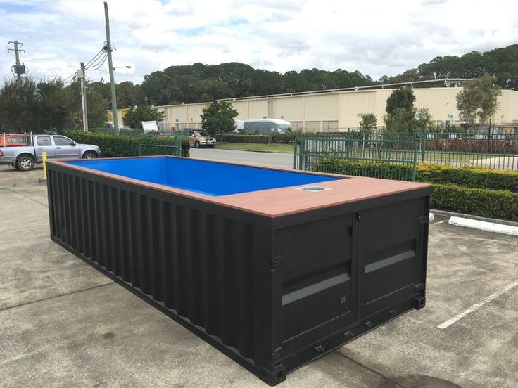 Pin von vin visnouka auf shipping container pool in 2018 pinterest - Seecontainer pool ...