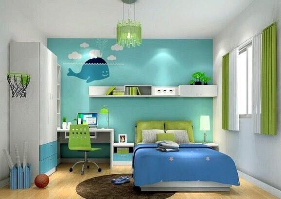 Minimalist Bedroom Design Boys Cheerful