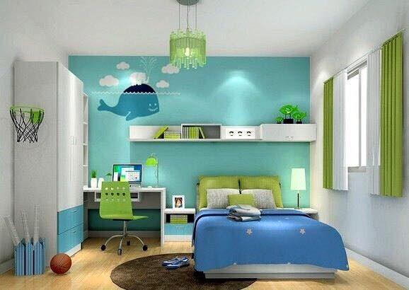 Minimalist Bedroom Design Boys Cheerful