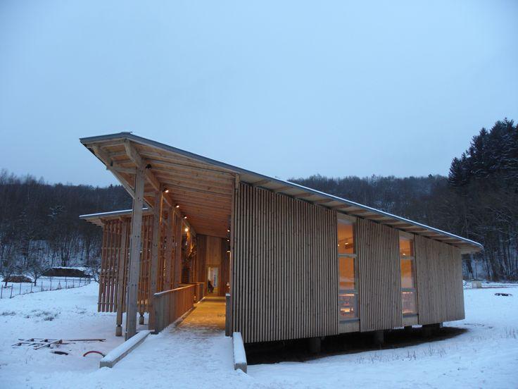 un centre d'arts en pleine nature