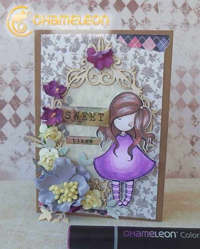 Kasia Sweet Times card