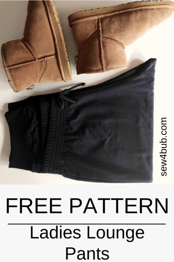 sew4bub.com Free Capri Lounge Pants