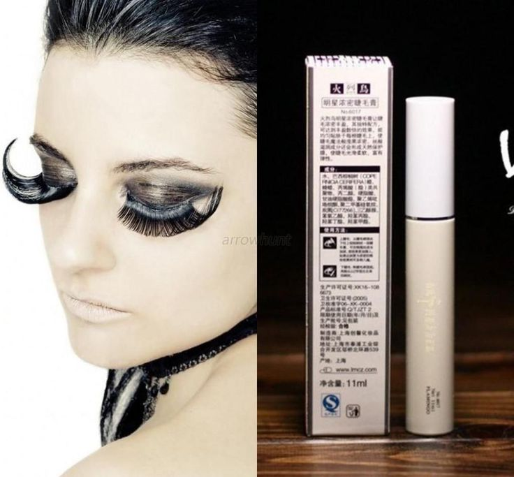 Brand Makeup Long Curling Thick Eyelash Black Fiber Volume  Mascara Eye Lashes Waterproof Cosmetics PY