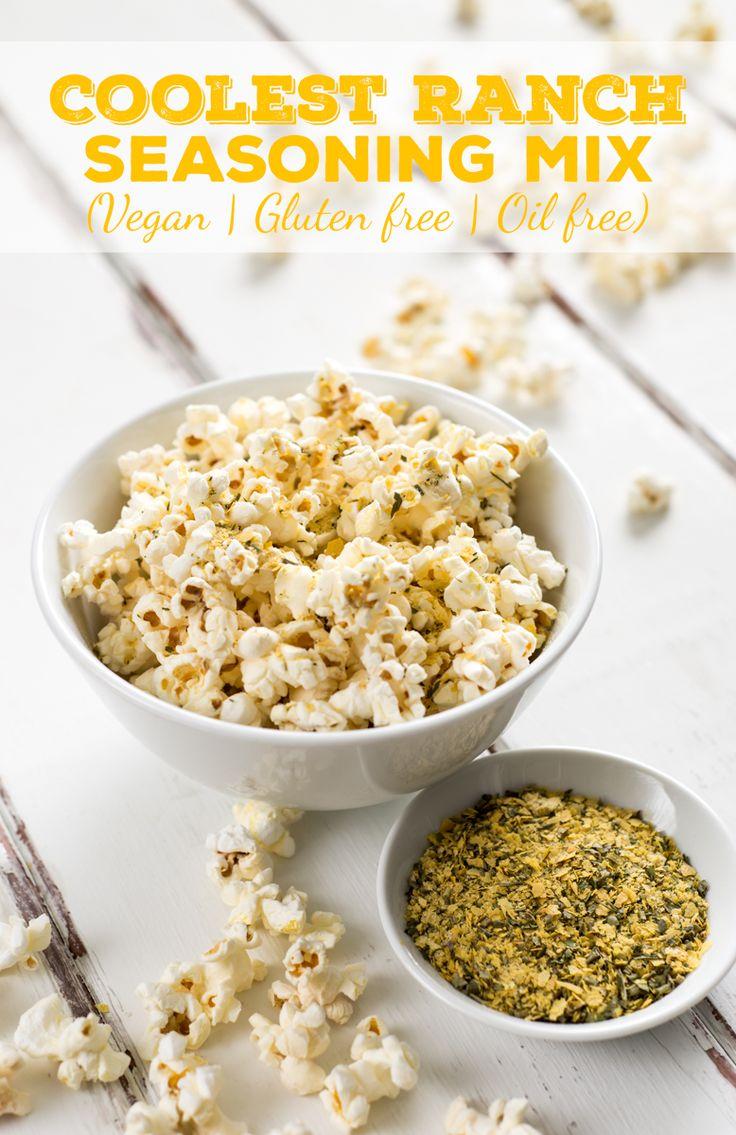 Coolest ranch seasoning mix recipe homemade popcorn