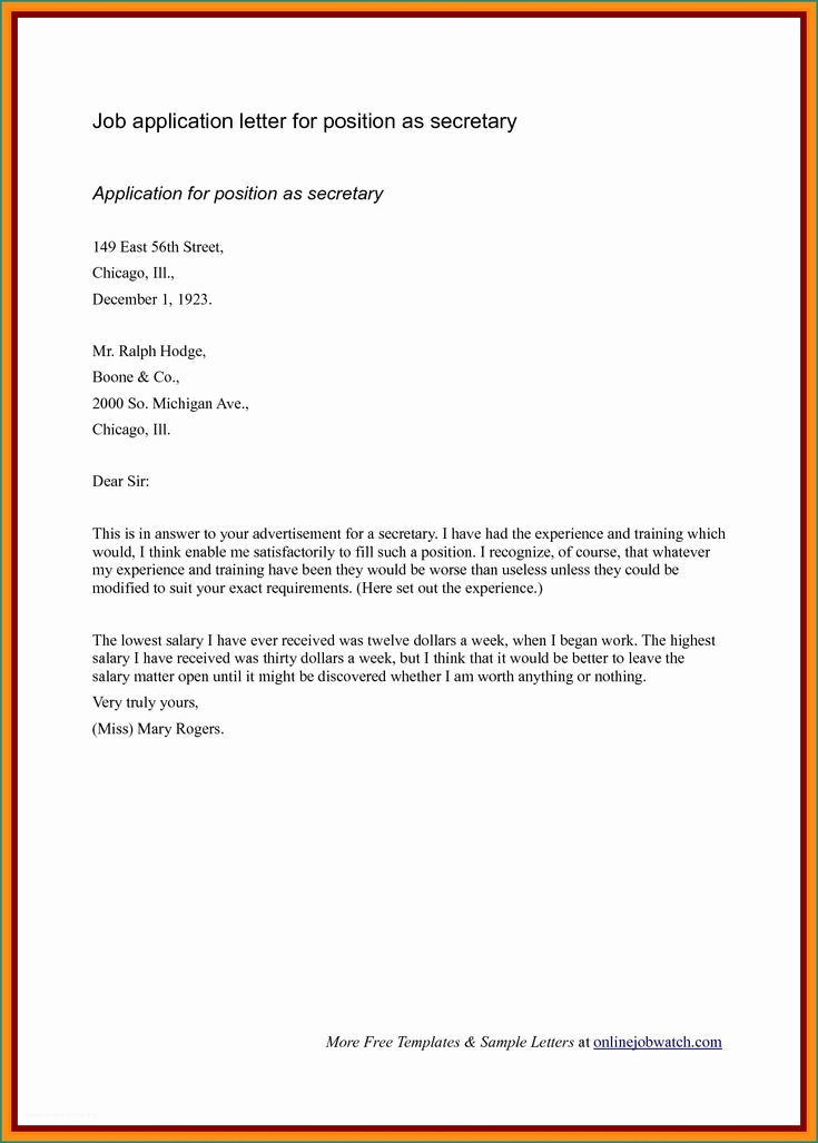 23+ Short Cover Letter Examples | Cover letter example ...