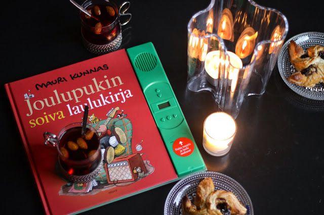Glögiä, torttuja ja Joulupukin soiva laulukirja