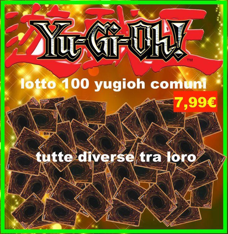 LOTTO CARTE YU-GI-OH , NUOVE IN ITALIANO , OFFERTISSIMA 100 CARTE SOLO 7,99€