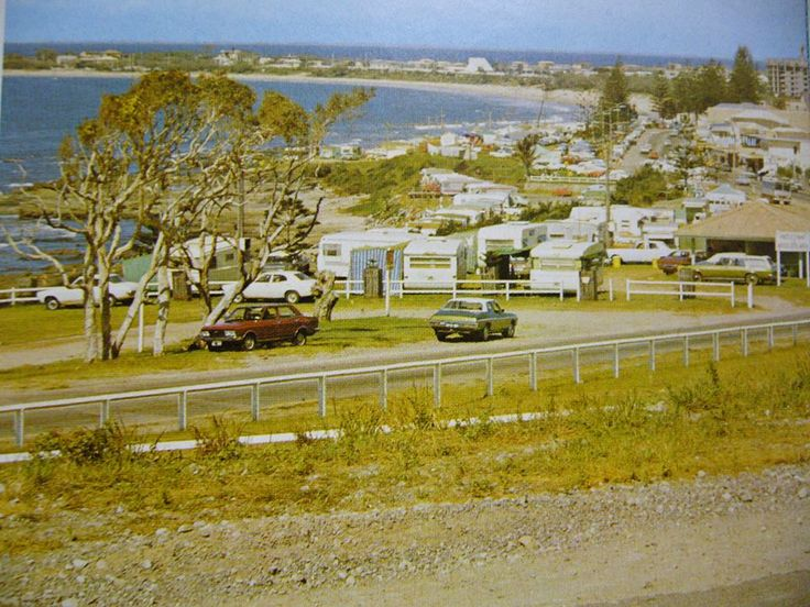 MOOLOOLABA SUNSHINE COAST QLD AUSTRALIA 1970. Can we go back to this please? Look! No high rise buildings. Oh the memories...........