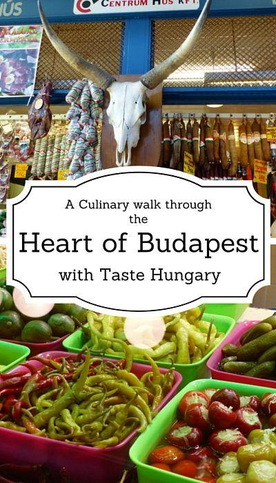 Taste Hungary culinary walking tour