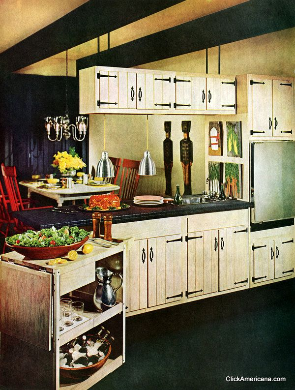 kitchen cabinets 60 four wonderful workable kitchens 1965 kitchens 19934