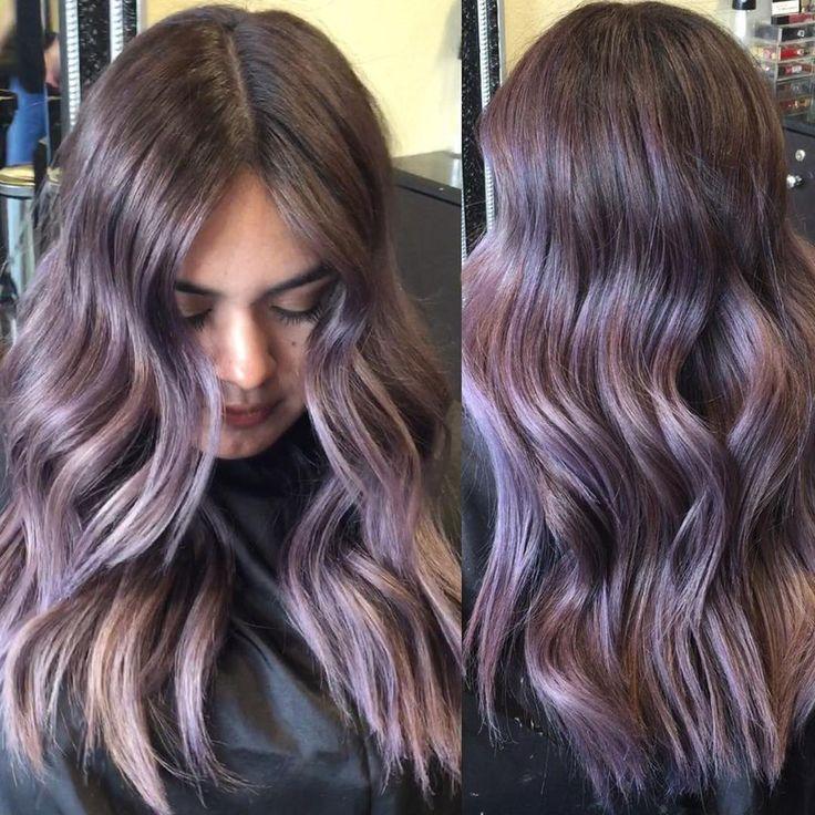 #metallicviolet  #longhair #purplehair