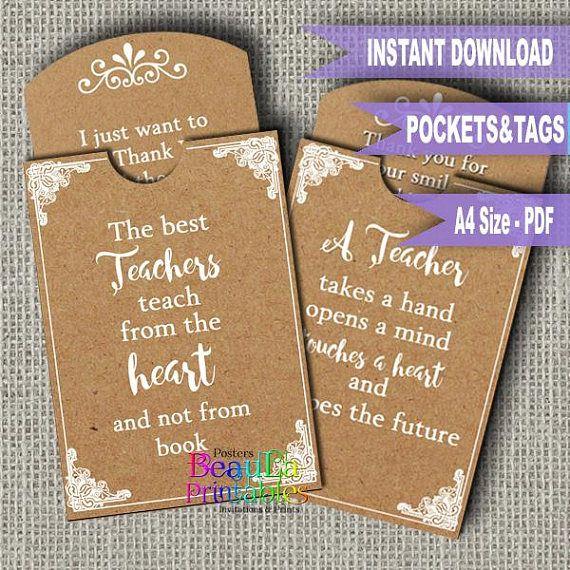 Teacher Tag & Pocket Tag Pocket Template Printable Tag and