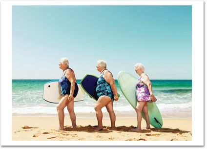 surfer gals