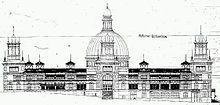 Garden Palace, Sydney International Exhibition, 1870s