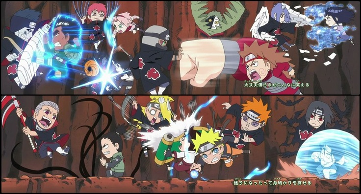 Naruto SD featuring Akatsuki by ~carnival2000 on deviantART