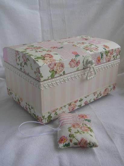 #Mimos Caixa Decorada