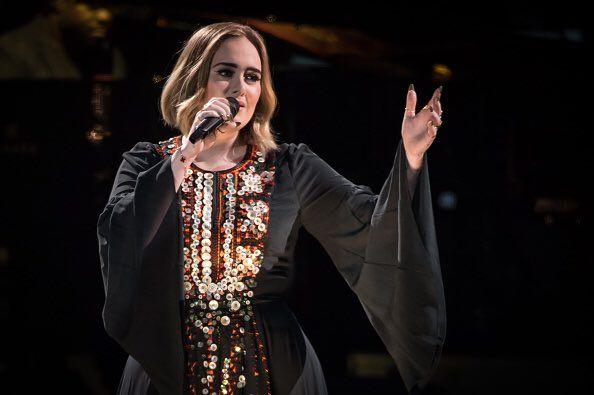 Adele at Glastonbury 2016
