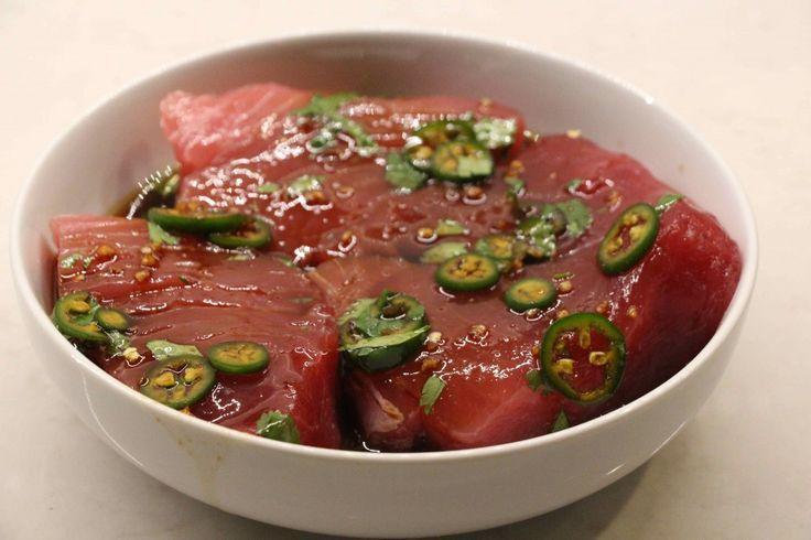 Spicy Pan-Seared Tuna | The Defined Dish