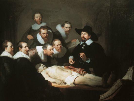 Rembrandt van Rijn - The Anatomy Lecture of Doctor Tulp