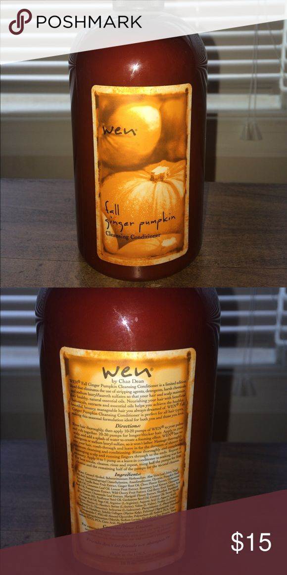 Wen hair care shampoo/ conditioner Wen cleansing conditioner brand new never opened smells amazing fall ginger pumpkin wen Other