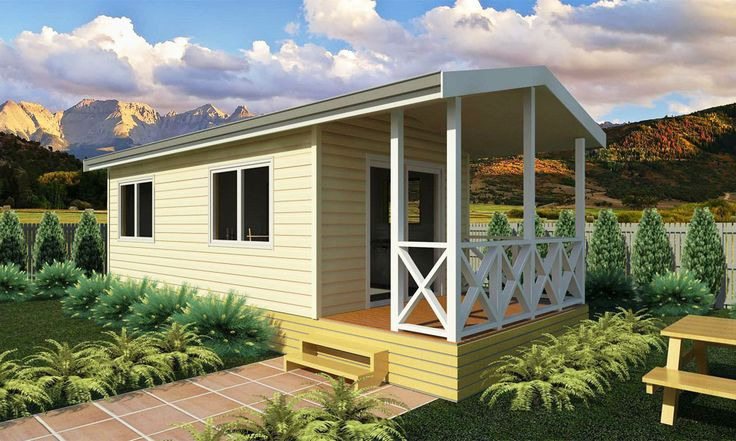 The Tui 1 bedroom cabin is fully self contained with kitchen and bathroom facilities. Great range of options for cladding, interior fit out, window and door options. Size: 24sqm plus verandah.