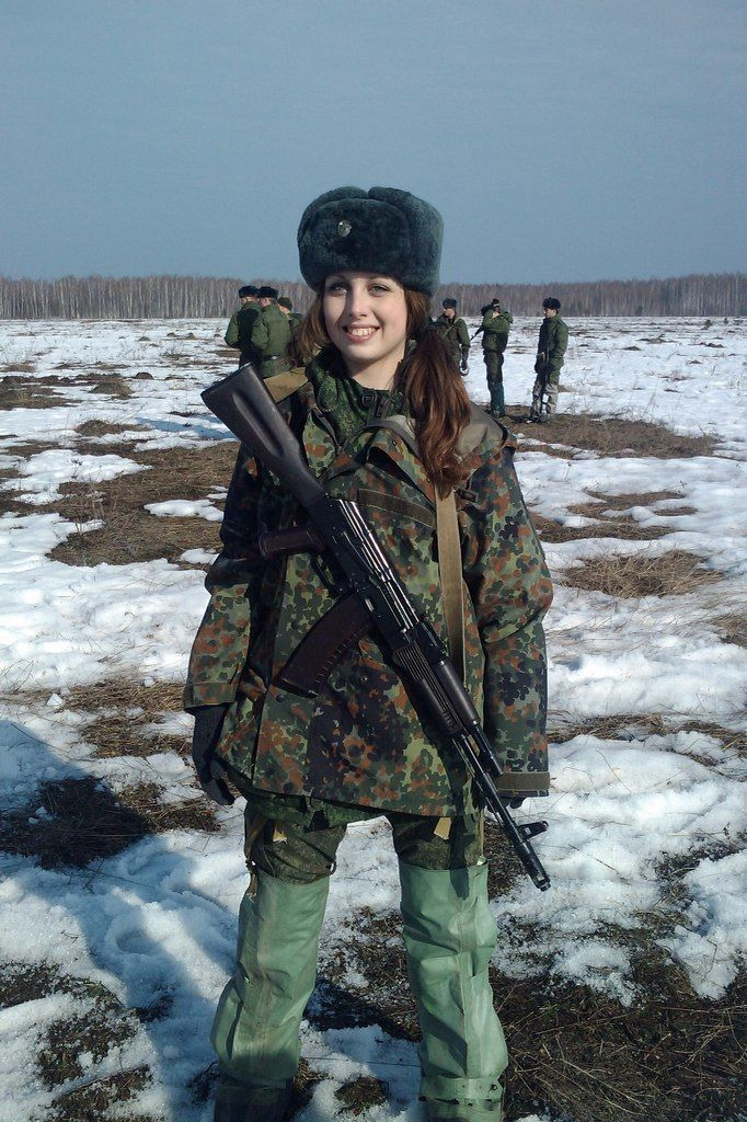 nude russian military women