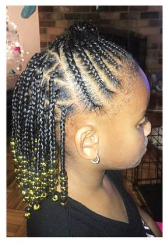 Toddler Braided Hairstyles With Beads