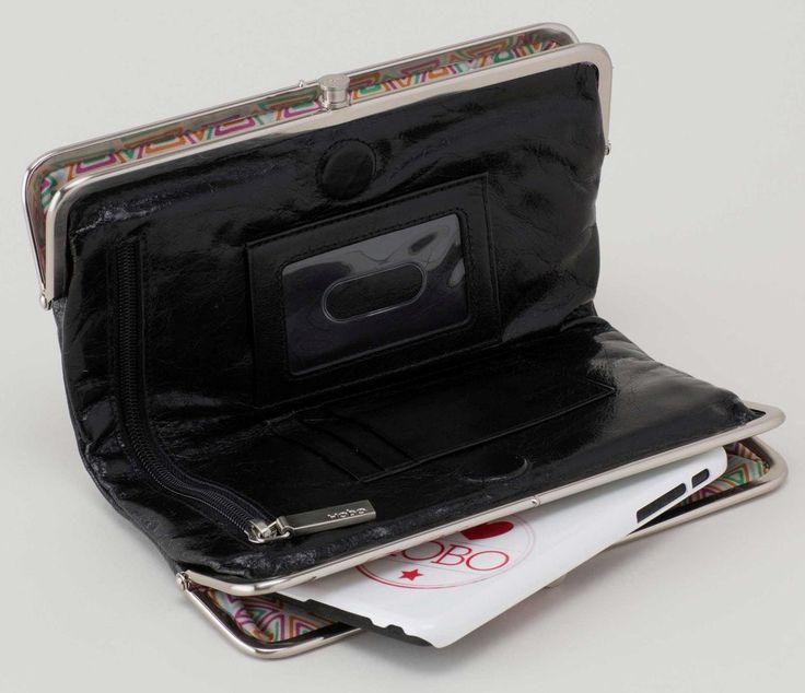 Hobo Lauren Black Wallet – Christina's Unique Accessories & More
