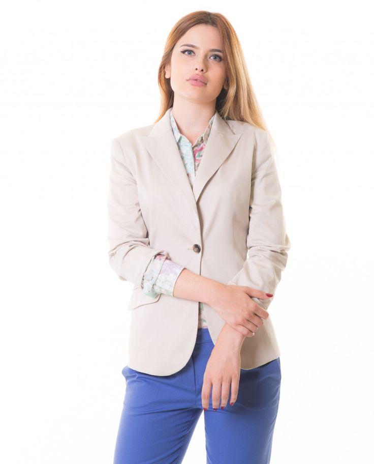 Karaca Bayan Ceket - Bej #womensfashion #jacket #ceket #karaca #ciftgeyikkaraca www.karaca.com.tr