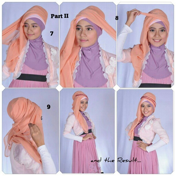 Tutorial Hijab Part 2
