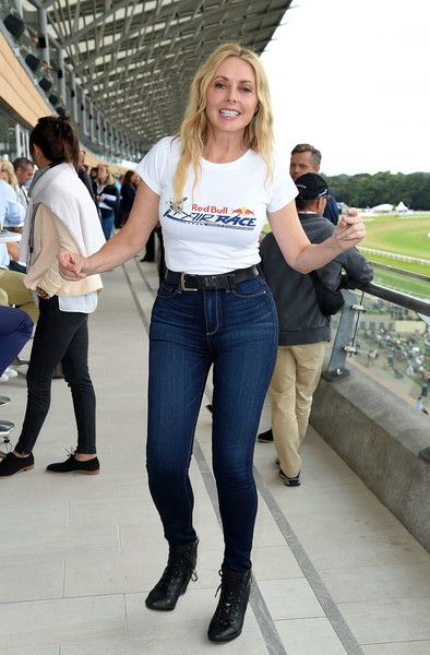 Carol Vorderman Photos Photos - Carol Vorderman attends the Red Bull Air Race World Championships at Ascot Racecourse on August 14, 2016 in Ascot, England. - Red Bull Air Race World Championships
