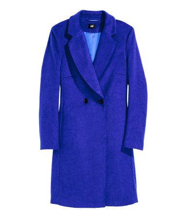 Zweireihiger Mantel | Kornblumenblau | Damen | H&M DE