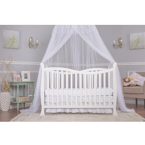 Dream on Me Violet 7 in 1 Convertible Life Style Crib - White - Dream On  sc 1 st  Pinterest & 15 best Baby cribs images on Pinterest | Convertible crib Baby ...