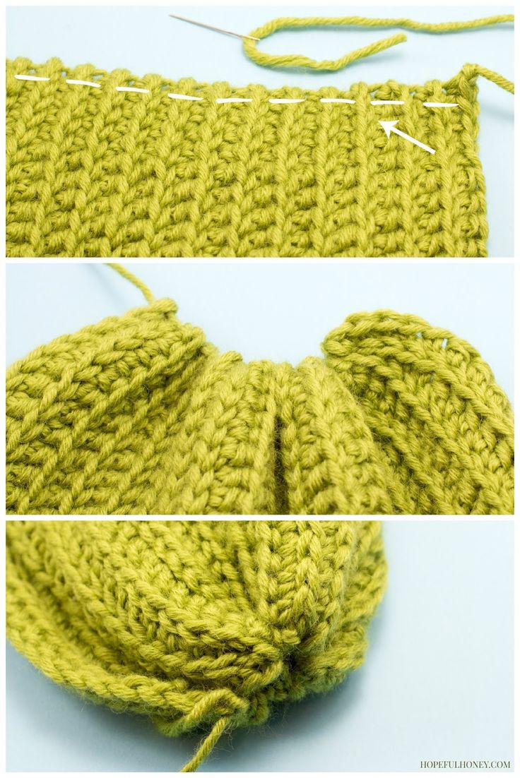 Chunky Willow Tree Slouchy Beanie Crochet Pattern