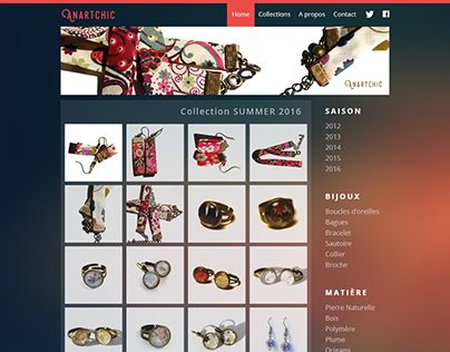 """Check out new work on my @Behance portfolio: """"Design Website for handcrafted jewelry"""" http://be.net/gallery/37509359/Design-Website-for-handcrafted-jewelry"""