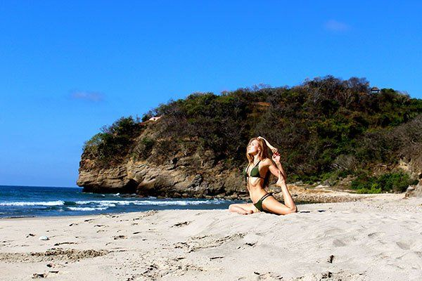 Pause & Pose: Mermaid Pose  | via The Honest Company Blog