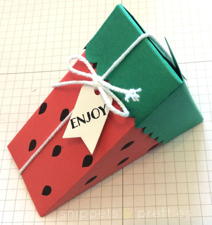 Snippets and Pretties: Watermelon box